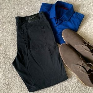 """Michael Kors Jeans - Michael Kors """"Parker"""" Slim Fit Jeans Black VGC"""